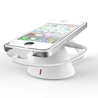 (20 set/lot) PN005 ventas al por menor de color blanco abs android ios móvil pantalla anti robo de carga y alarma de seguridad holder