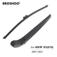 BROSHOO, автомобильные задние щетки стеклоочистителя, Задний рычаг стеклоочистителя для BMW X5(E70) хэтчбек(2007-2013) 380 мм, лобовое стекло, авто стиль