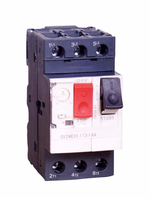 Motor Protection Circuit Breaker For The Overload And Short Circuit