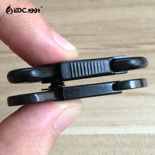 50x HK style 1 sling clips Spring Snap Hook Strap Rifle Gun Attachment Black,metal buckle