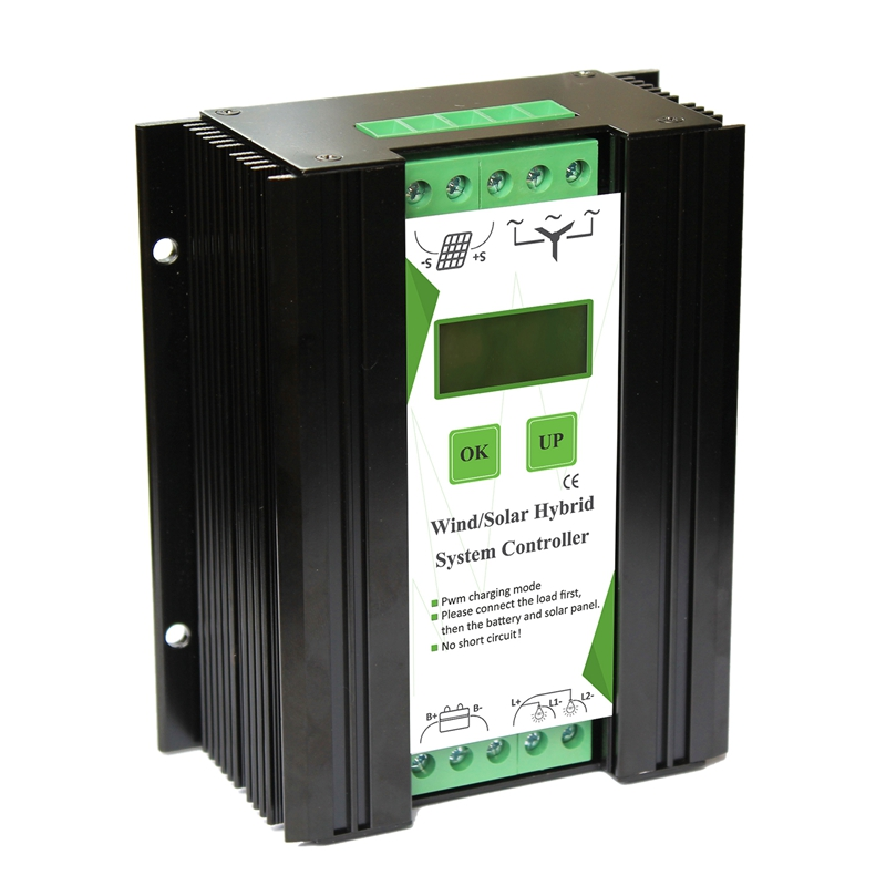 12 24V Wind And Solar Complementary Charge Controller Light Timer Control Lcd Monitor Wind Turbine Solar