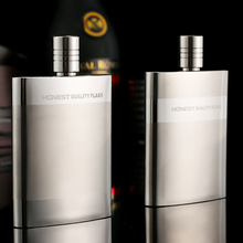 Portable Business Men Stainless Steel Whisky Hip Flask Set European Durable 3oz Metal Funnel Alcohol Best Man Gift Package