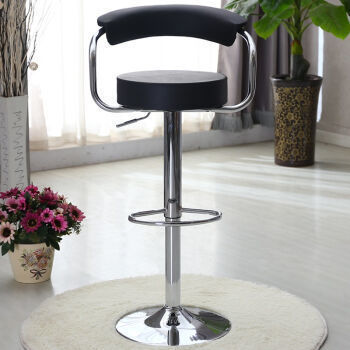 Hotel club chair retail Dance hall singing room black stool Department store chair wholesale free shipping