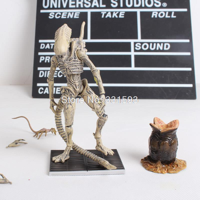 "Movie Aliens Colonial Marines Xenomorph Boiler PVC Action Figure Collectible Toy 5"" 12CM"