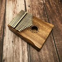 New 17 Key Kalimba Finger Thumb Piano Mbira Calimba African solid Acacia Cat With Bag Gift Keyboard Instrument For Music Lover