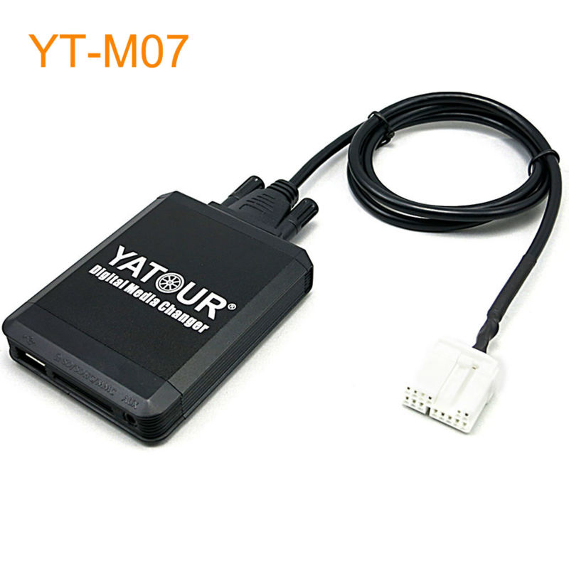 Yatour Car MP3 USB SD CD Changer for iPod AUX with Optional Bluetooth for Honda Accord Civic CRV Element Odyssey Pilot Fit S2000 yatour car mp3 usb sd cd changer for ipod aux with optional bluetooth for toyota carina celica coaster highlander land cruiser