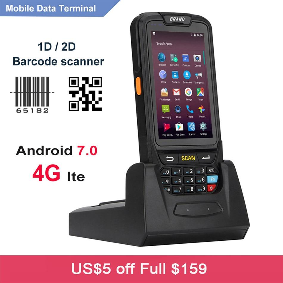 tela sensivel ao toque sem fio smartphone wifi 4g android 7 0 handheld movel pda 1d