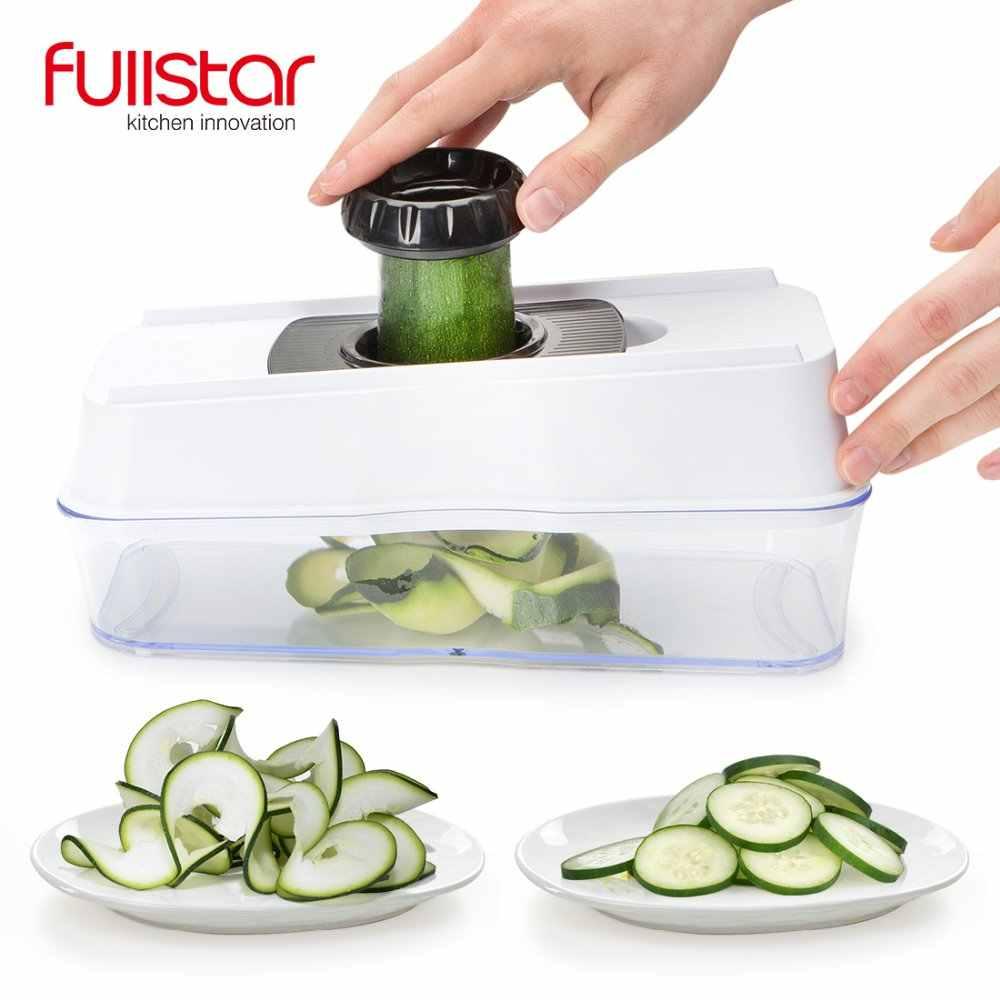 5 EM 1 acessórios de cozinha Spiralizer Vegetal Slicer Mandoline Slicer Mandoline Slicer Alimentos com Lâminas Julienne Grater 5