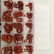 225 Piece 6mm to 20mm Silicone Rubber washers O-Ring Kit O seal ring gasket assortment free shipping