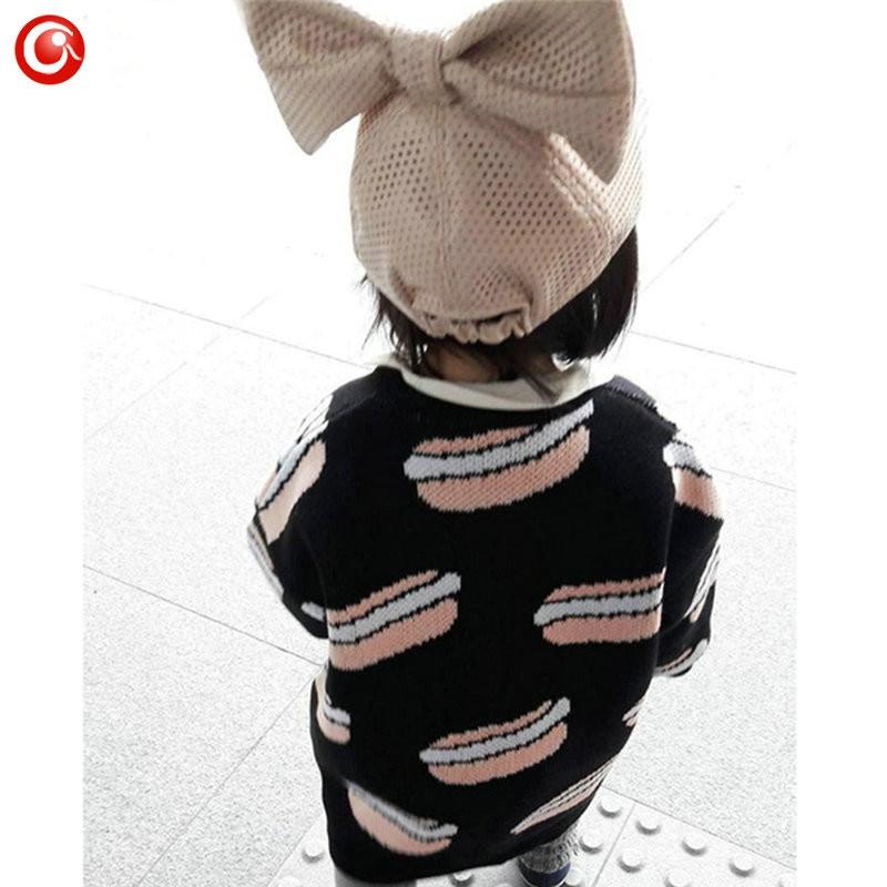 12M-4T AutumnWinter Children Girls Cardigan Fashion Cotton Kids Boys Sweater Baby Knit Open Stitch Jumper Clothes For Christmas (9)