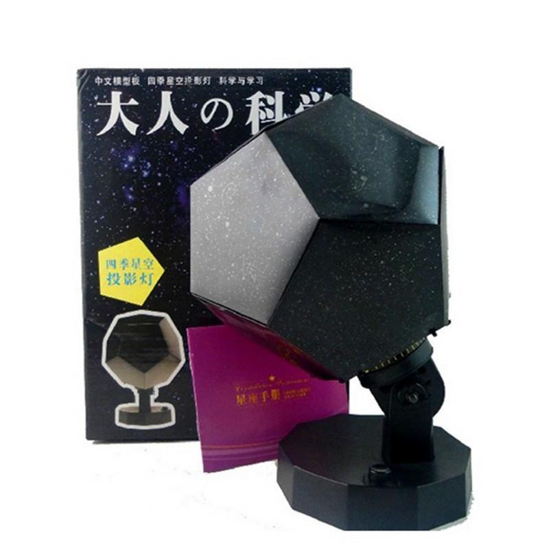 FENGLAIYI Luminaria Night Lamp Science Starry Sky Cosmic Nightlight Star Projection RGB LED Night Lights Romantic Bedroom Gift