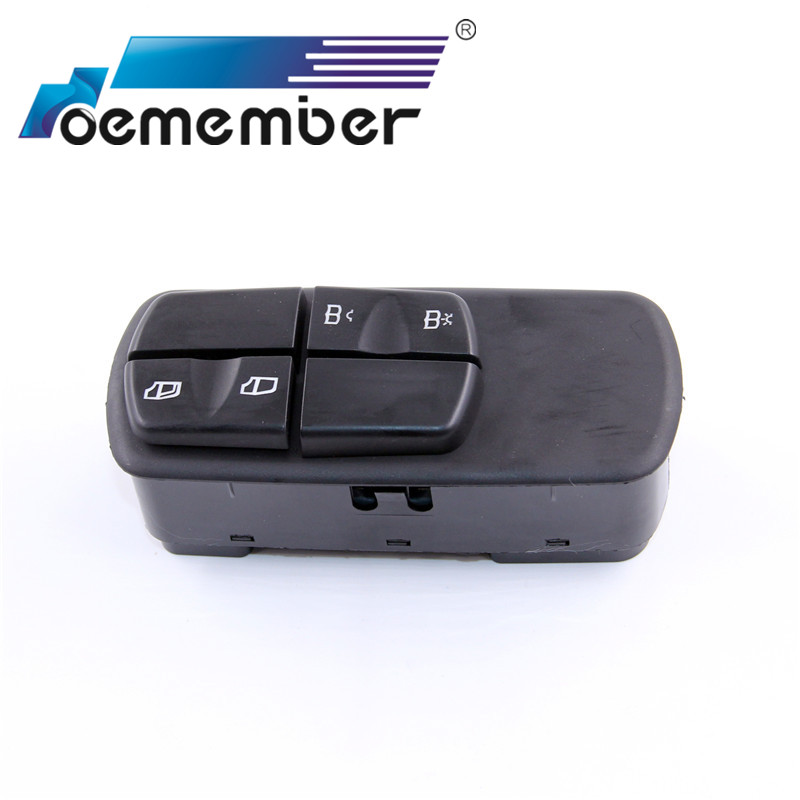 New Power Window Switch For Mercedes Benz Truck Electric Window Switch A0025452013 0025452013