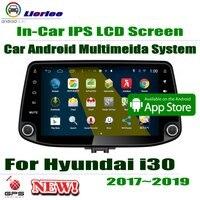 9 HD 1080 P ips ЖК экран Android 8 Core для hyundai i30 (PD) 2017 ~ 2019 автомобильный радиоприемник BT 3g/4G wifi AUX USB GPS Navi мультимедиа