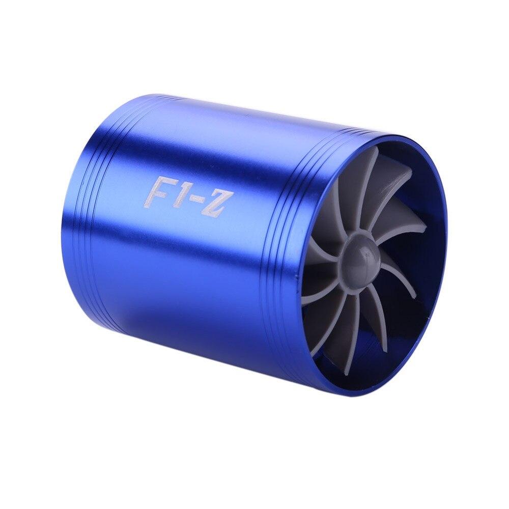 Auto Reequipamento Carro Turbo de Entrada De Ar Da Turbina Gás Óleo Combustível Fan Saver Supercharger Turbina Turbo Apto para Mangueira De Admissão De Ar dia 65-74mm