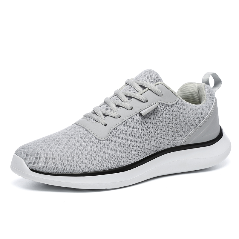 Plus Size 39-48 New Mens Ultra Light Running Shoes Breathable Mesh Sports Shoes Lace Up Cushioning Jogging Sneakers Cheap Shoes