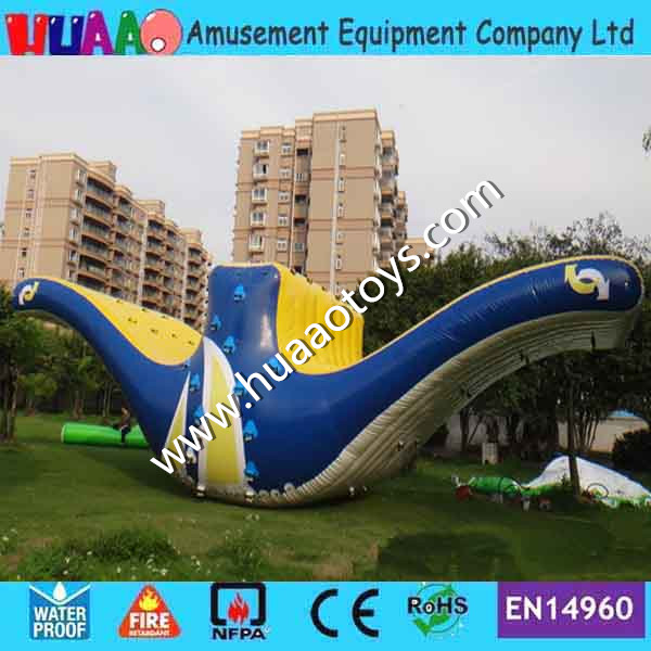 Free shipping inflatable water climbing games(CE pump+pvc bag+repair kit) 7 3 6m inflatable water slide with free ce pump and repair kit