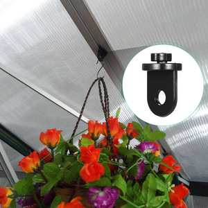 Image 1 - 10 adet sera plastik askı asılı klip saksı asma kancaları bitki askıları sera araçlar asılı alet sera için