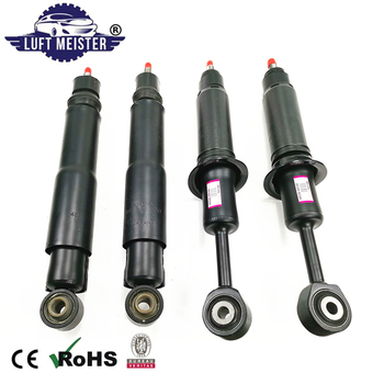 Set (4pcs) Front + Rear Shock Absorbers for Toyota Land Cruiser LC 200 / Lexus LX 570 with Sensor Air Suspension Damper