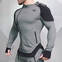 2017 New Gyms Body Engineers Fashion Men Hoodies Brand High Quality Men Sweatshirt Hoodie Casual Zipper