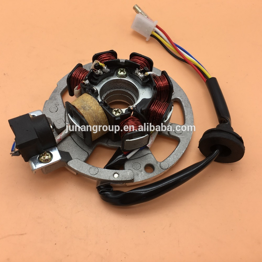 stator magneto generator 5 wire for 2 stroke scooter yamaha minarelli chinese 50cc 90cc atv buggy quad in motorbike ingition from automobiles motorcycles  [ 1000 x 1000 Pixel ]
