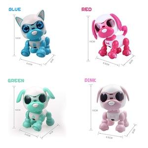 Image 5 - روبوت الكلب لعبة تفاعلية هدايا عيد الميلاد هدية عيد الميلاد لعبة للأطفال الروبوتية جرو لعب للبنين بنات