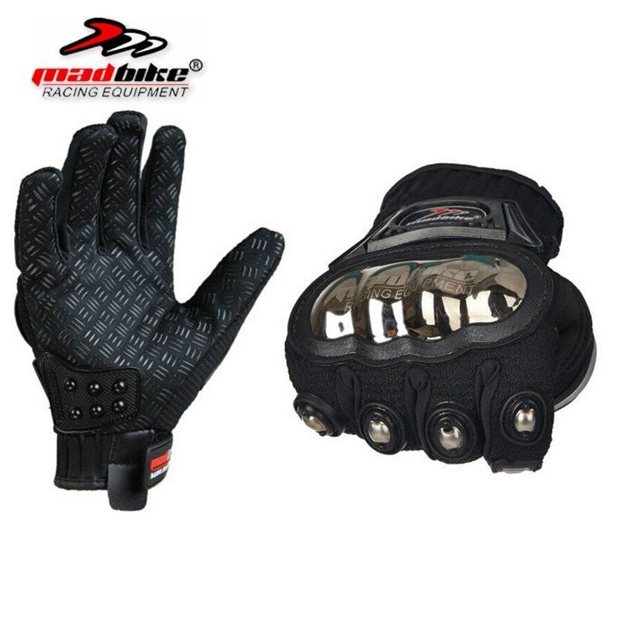 Madbike MAD-01S мото-перчатки защитный спортивные дорожно-спортивные сафти титана мотоцикле guantes luvas пункт moto motocicleta