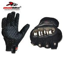 Madbike перчатки мотоцикла мужчины лето гонки moto велоспорт мотокросс перчатки мотоцикл защитная полный finger