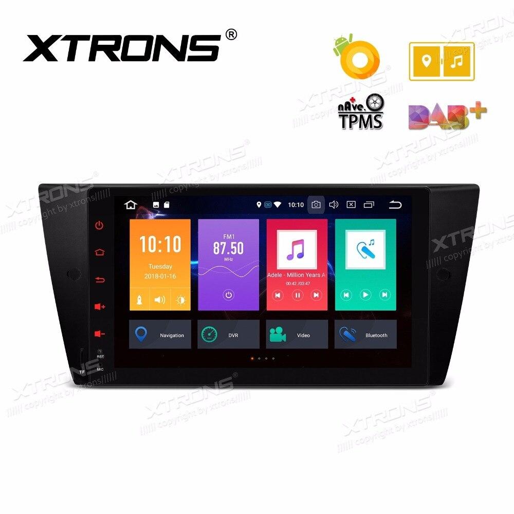 Android 8.0 OS 9 voiture Multimédia GPS pour BMW E90 2005-2012 & E91 2005-2012 & E92 2006-2013 et E93 2007-2013 et BMW M3 2007-2012