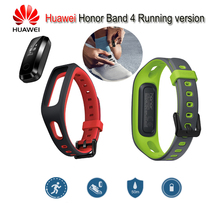 Оригинальный huawei Honor Band 4 работает Версия смарт-браслет Shoe-Buckle Land Impact Heart Rate Sleep Snap Monitor