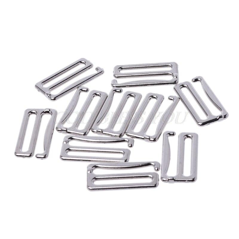 10pcs Metal Bra Hook Suspender Clip Corset Garter Belt Clasp Lingerie Supplies