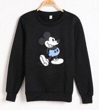 Women hoodies Cartoon mickey mouse harajuku shirt women clothes winter Sweatshirt Autumn Coat Long Sleeve Outerwear Mickey