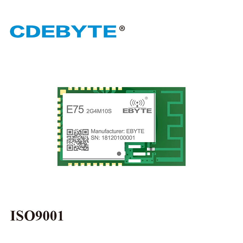 E75-2G4M10S Zigbee JN5169 2.4Ghz 10dBm PCB IPEX Connector IoT Uhf Wireless Transceiver 2.4 Ghz Transmitter And Receiver Module