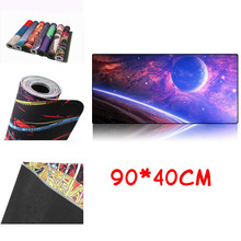AUGMICKY 900*400mm DIY Custom Rubber Gaming Mouse Pad Mat Laptop Keyboard L XL XXL