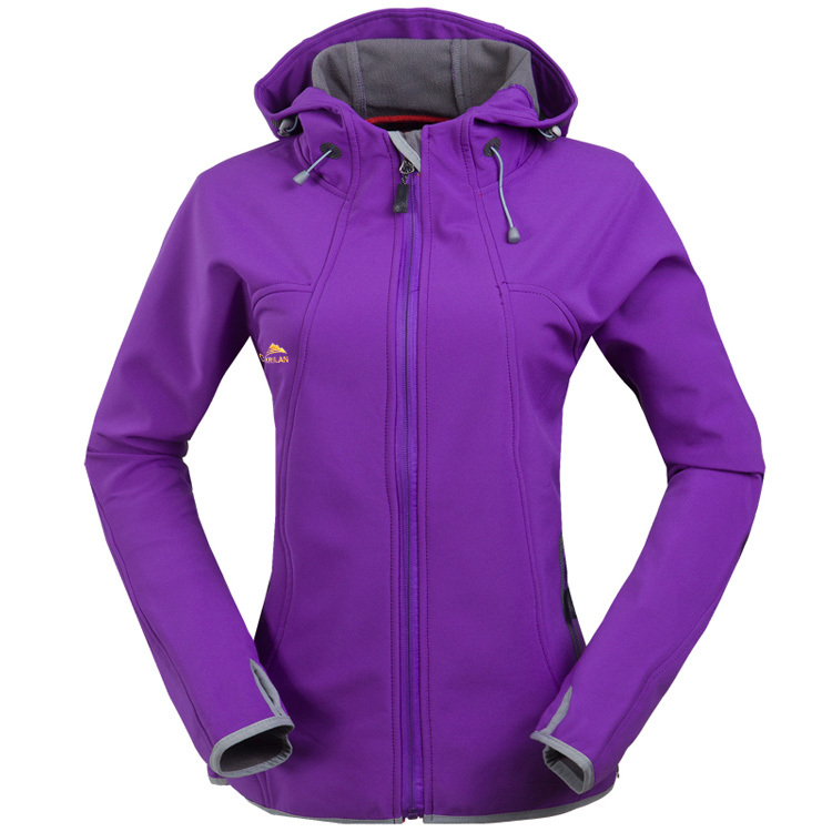 ded161194 Women Outdoor Fleece soft shell jacket warm Sports hiking climbing running  outdoor jacket-in Hiking Jackets from Sports & Entertainment on  Aliexpress.com ...