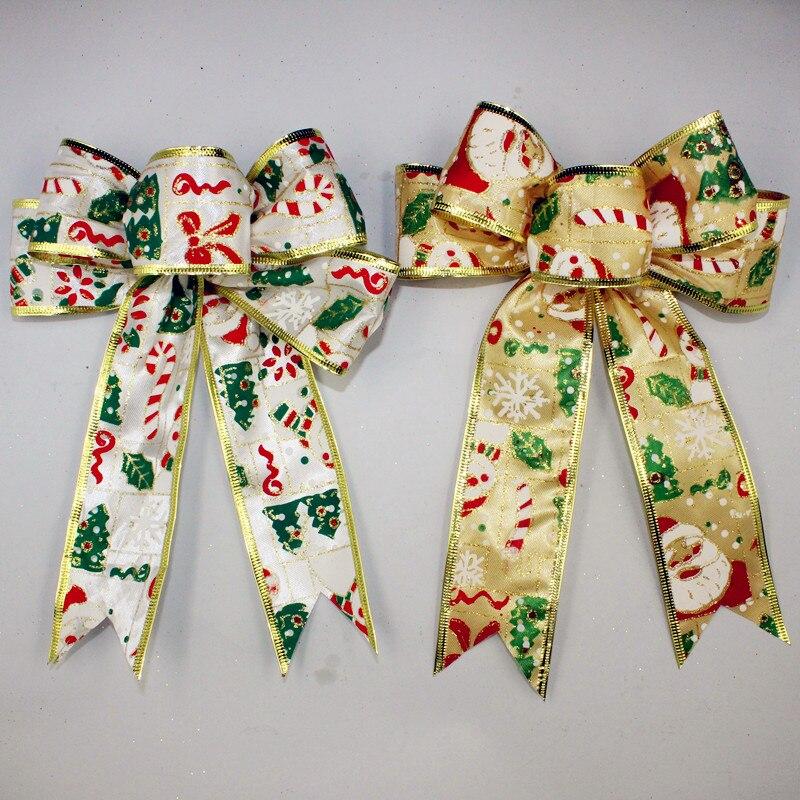 20cm Malovaná sněhová vločka Sněhulák Vánoční doplňky Vánoční luk Zlatá stříbrná dekorace