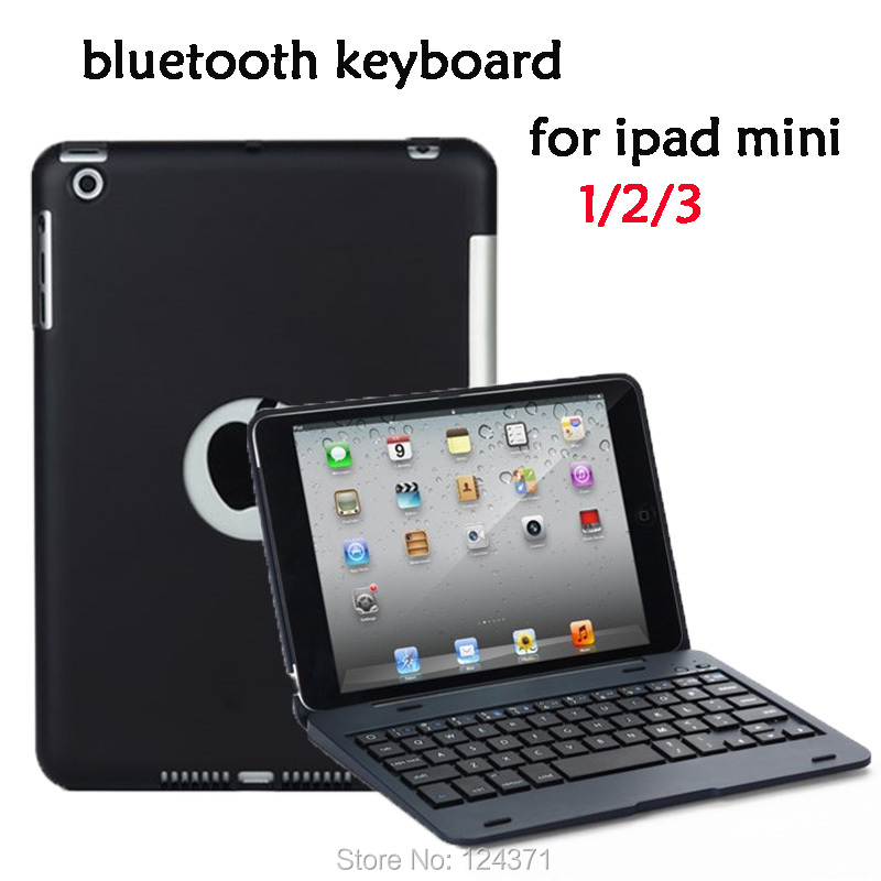 Bluetooth Keyboard Protective Case for iPad mini1/2/3 Wireless Bluetooth Keyboard for ipad mini with retina display цена