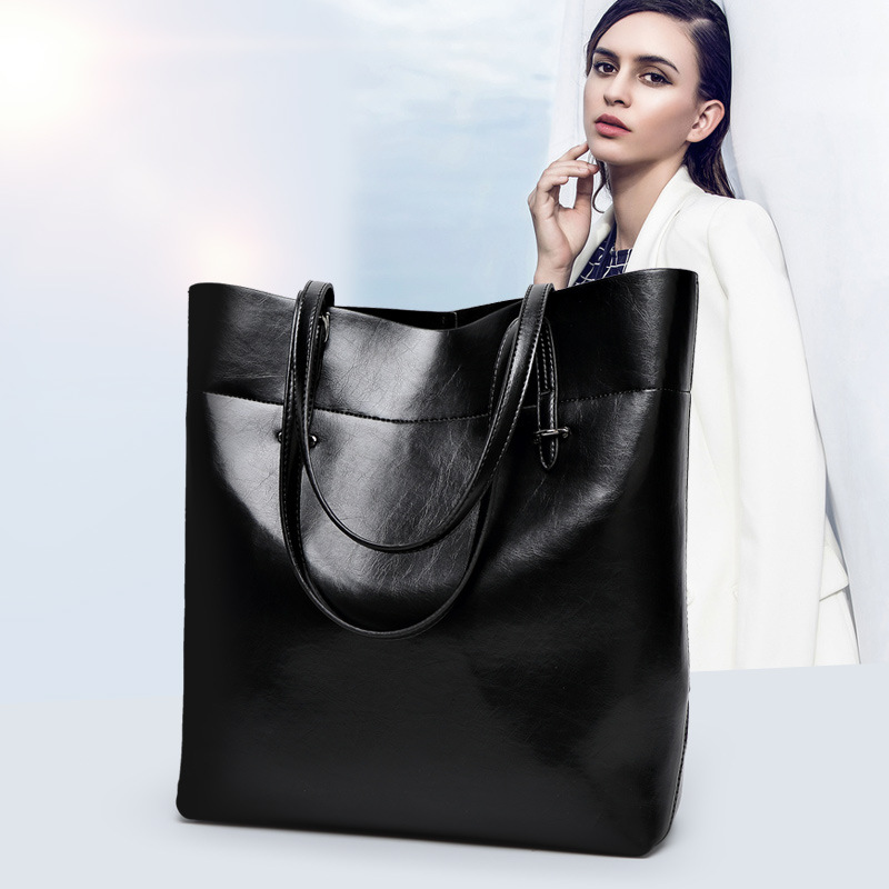 Women's Handbags Messenger-Bags Shoulder Female Genuine-Leather Casual Ladies Bolsa-Feminina