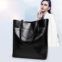 Genuine Leather Bags For Women Fashion Women's Handbags Ladies Shoulder Casual Female Messenger Bags bolsa feminina hot N418