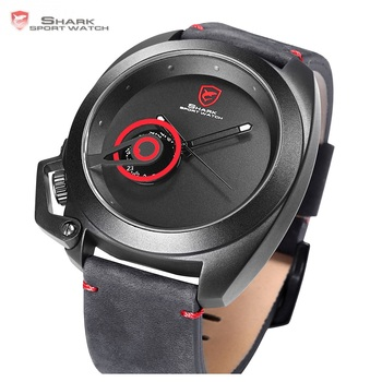 Sport Red Date Crown Guard Design Watches 1