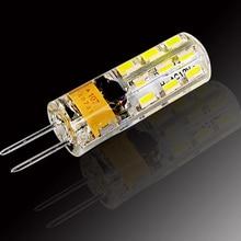 цена на G4 LED 12V AC DC 3W 6W Dimmable LED Lamp G4 24/48leds 3014 SMD Bulb Lamp Ultra Bright Free Shipping
