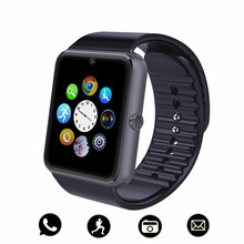 2019 New Bluetooth Smart Watch Men With Touch Screen Big Battery Support TF Sim Card Camera For IOS iPhone Android Phone For men