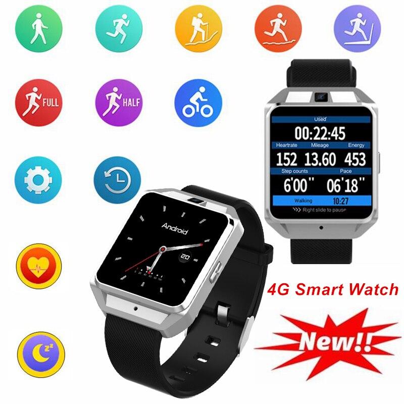 4G Montre Smart Watch Hommes Bluetooth GPS WiFi de Fréquence Cardiaque Altitude Barométrique Boussole Hors Ligne Alipay Caméra Smartwatch Reloj Deportivo
