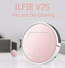 ILIFE Beatles V7s Robot Vacuum Cleaner larger mop with 0.45l Water Tank, 0.5L dustbin Innovate 2 in 1 Wet and Dry Vacuum Clean