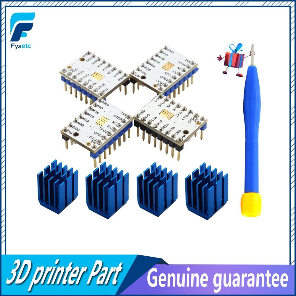 4PCS TMC2100 V1 3 TMC2130 TMC2208 Stepper Motor StepStick Mute Driver  Silent Excellent Stability Protection For 3d Printer Parts