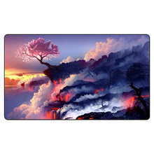 Cherry blossom Board Game Playmat Magical de Gaming Verzamelen landschap Rubber Bloem Die Bloeit in Tegenspoed Grote muismat(China)