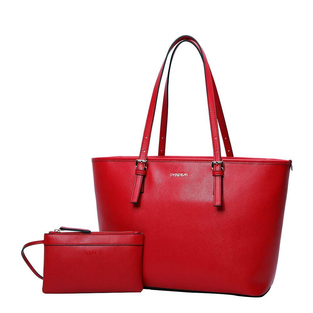 LOEIL New women's leather bag clutch bun mother bag shoulder bag leather fashion big bag leather bag woodland leather bag