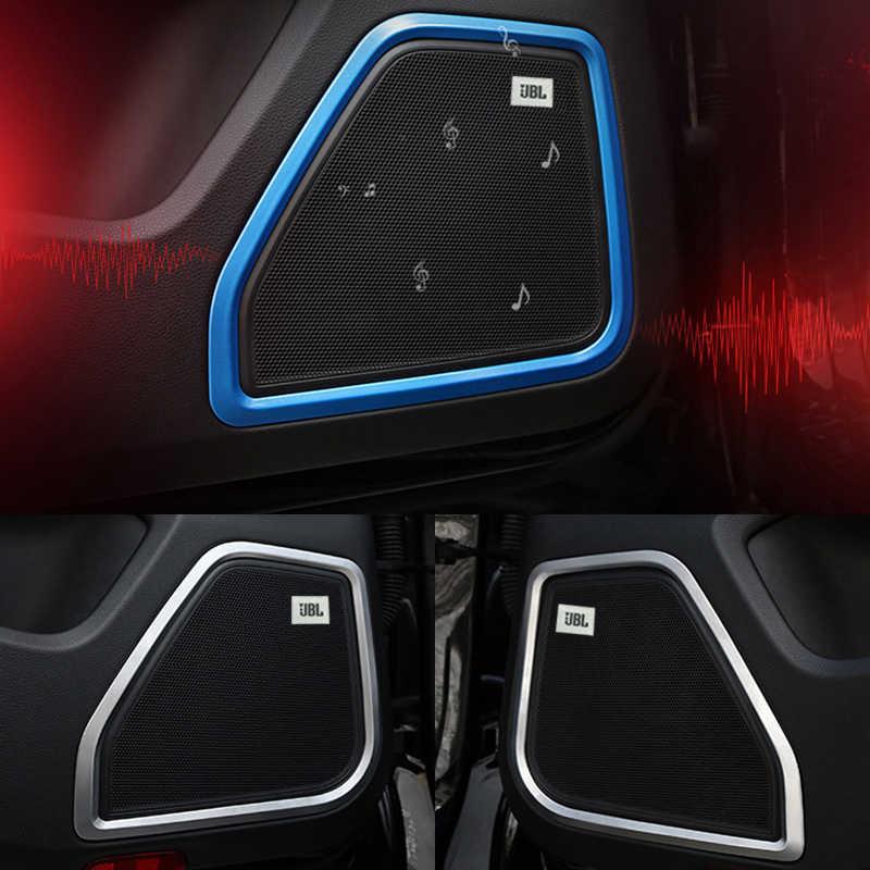 2019 Excelente decorar Logotipo JBL áudio do carro apto para Toyota/skoda/Volkswagen/Opel/AUdi/Suzuki /Fiat/BMW/mazda/fiat carro-styling