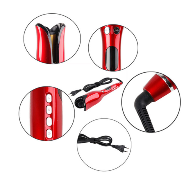 Curling Irons Automatic Air Curler LCD Digital Display Wand Ceramic Rotating Hair Curler Hair Styling Tools Hair Care 1