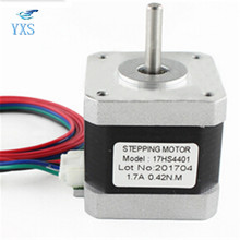 42 Stepper Motor 17HS4401 1.7A 0.45Nm DIY Motor 12V 3D Printer