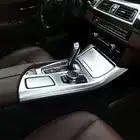 Car styling Console Pannello Telaio di Copertura Trim Supporto di Tazza di Acqua Decorazione Autoadesivo Per BMW serie 5 F10 Accessori Auto Per Interni - 6